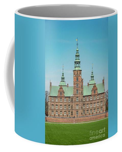 Denmark Coffee Mug featuring the photograph Copenhagen Rosenborg Castle Facade by Antony McAulay