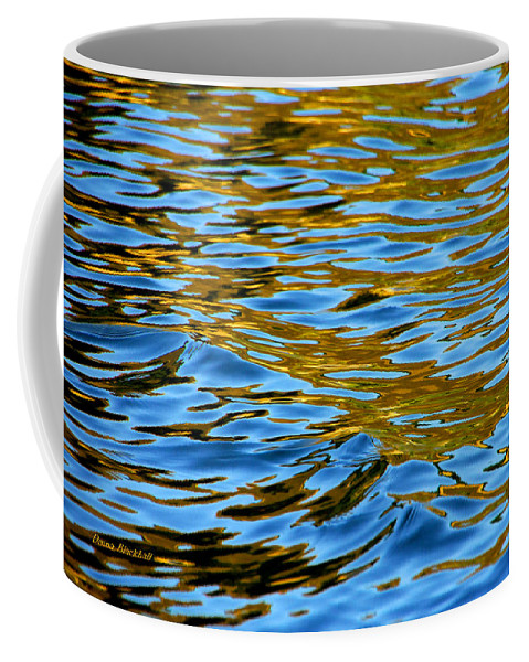 Water Coffee Mug featuring the photograph Copper Melody by Donna Blackhall