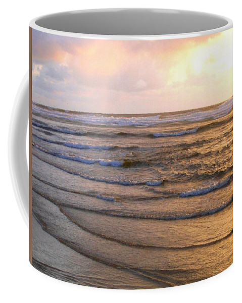 Sunset Coffee Mug featuring the photograph Copper Shores by Will Borden