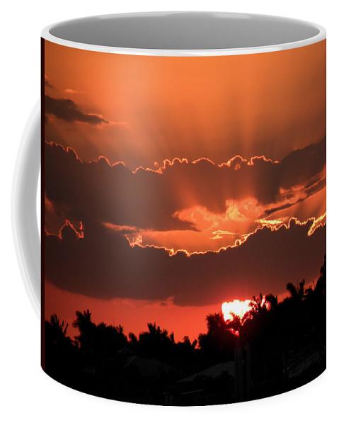 Sunset Coffee Mug featuring the photograph Copper Sunset by Rosalie Scanlon