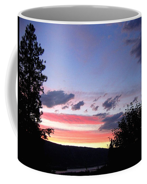 Sunset Coffee Mug featuring the photograph Coral Sunset by Will Borden