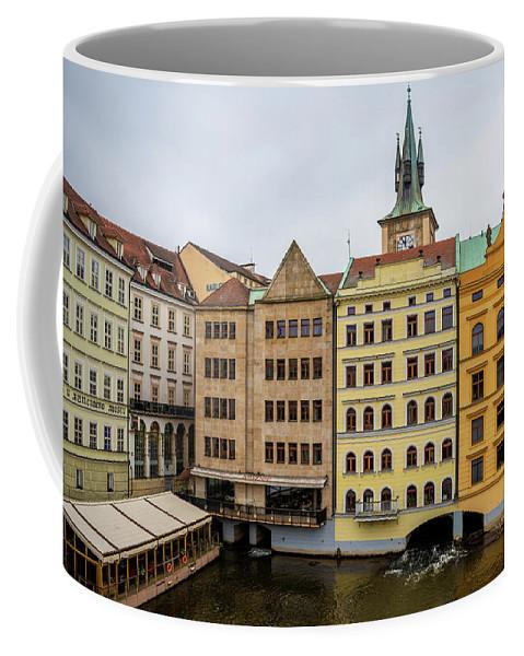 City Coffee Mug featuring the photograph Corner Buildings In Prague by Svetlana Sewell