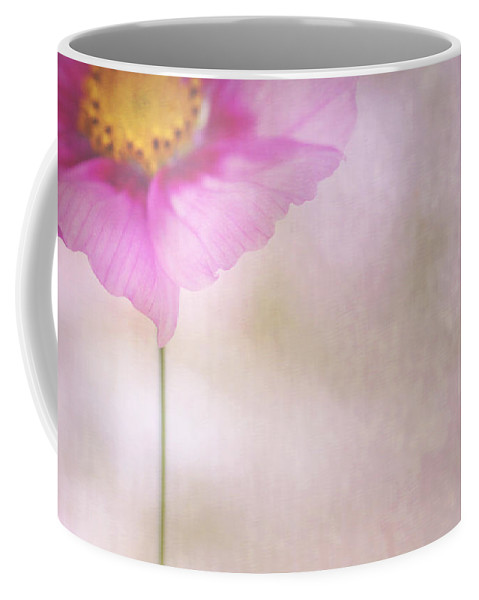 Cosmos Coffee Mug featuring the photograph Cornered by Rebecca Cozart