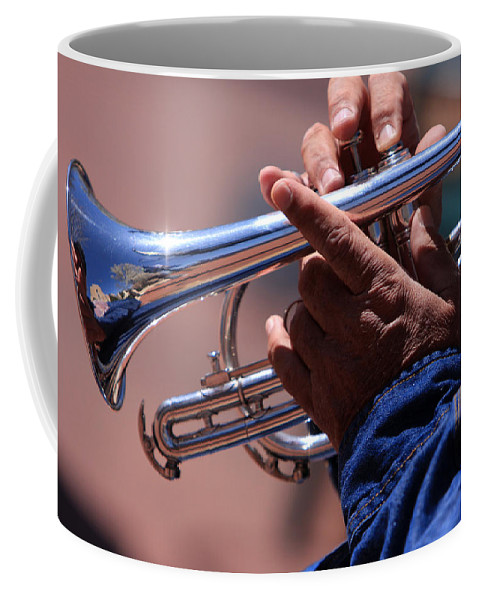 Cornet Coffee Mug featuring the photograph Cornet On Pearl Street by James BO Insogna
