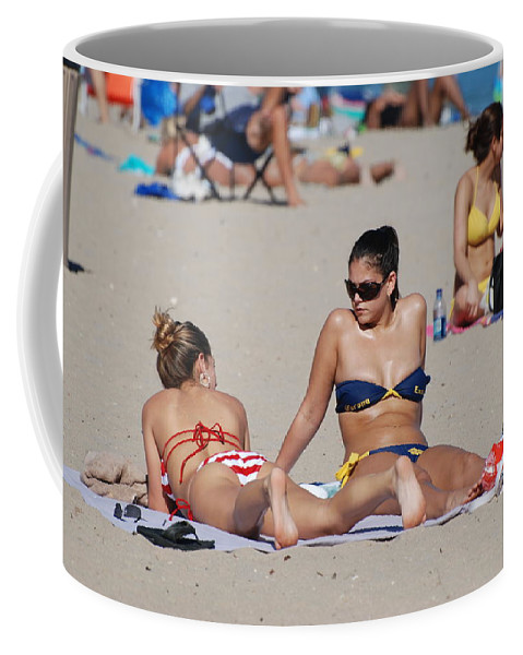 Girls Coffee Mug featuring the photograph Corona Strips by Rob Hans