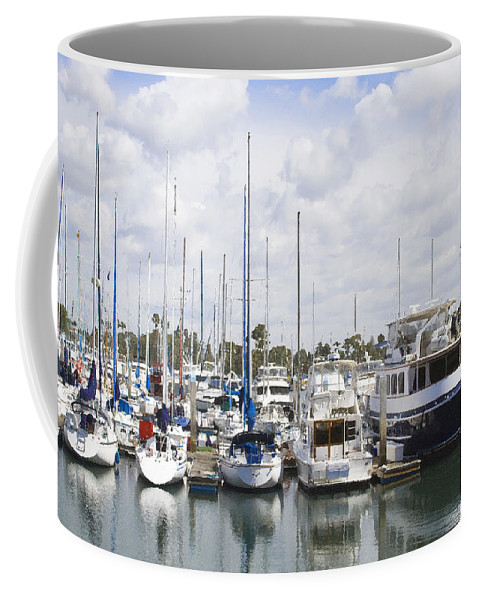 Coronado Coffee Mug featuring the photograph Coronado Boats II by Margie Wildblood