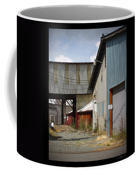 Corrugated Coffee Mug featuring the photograph Corrugated by Tim Nyberg