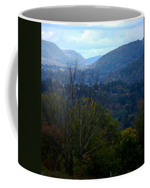 Digital Photograph Coffee Mug featuring the photograph Cortland Ny by David Lane
