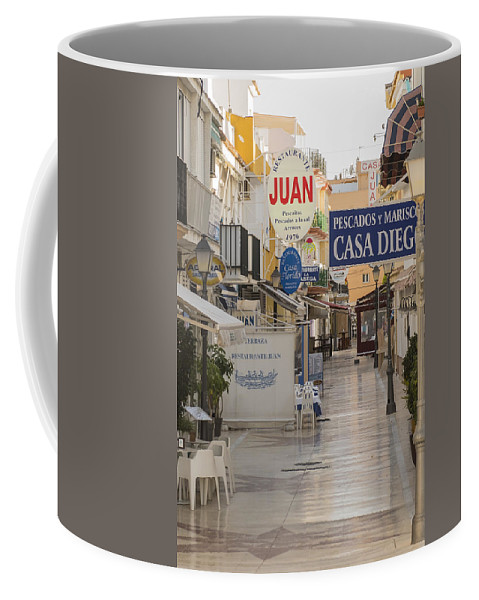 Costa Del Sol Coffee Mug featuring the photograph Costa Del Sol  Spain by Jon Berghoff