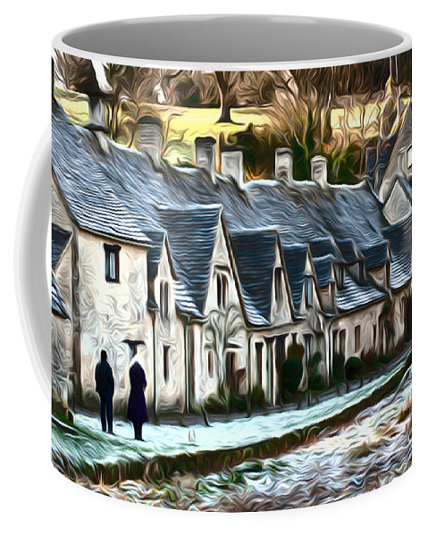 Cotswold Coffee Mug featuring the photograph Cotswold Scene by Andrew Michael