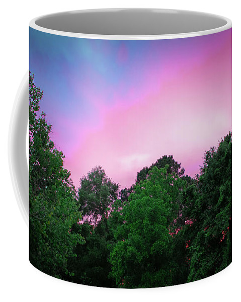 Sunset In Athens Ga Coffee Mug featuring the photograph Cotton Candy Sunset by Josh-Mark Robinson
