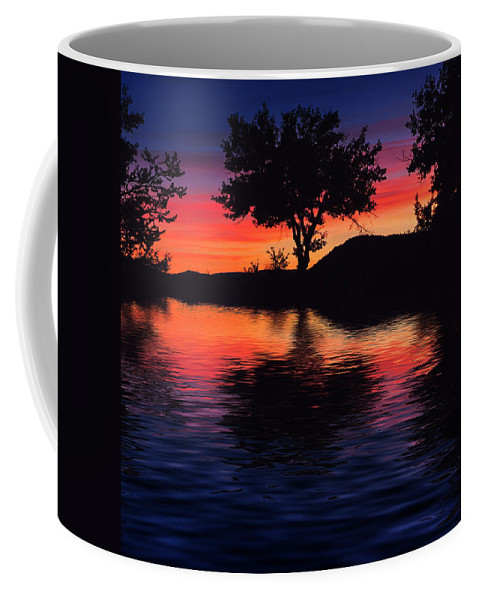 France Coffee Mug featuring the photograph Coucher Du Soleil En Provence by Rob Lester