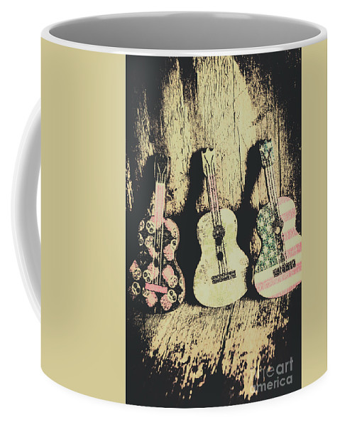 Musical Coffee Mug featuring the photograph Country And Western Saloon Songs by Jorgo Photography - Wall Art Gallery