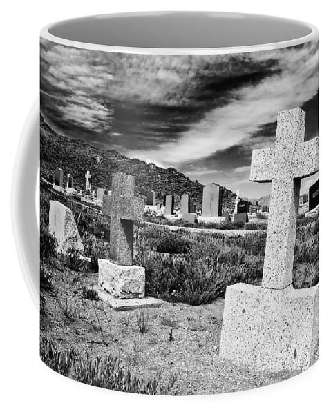 Cemetery Coffee Mug featuring the photograph Country Cemetery by Mick Burkey