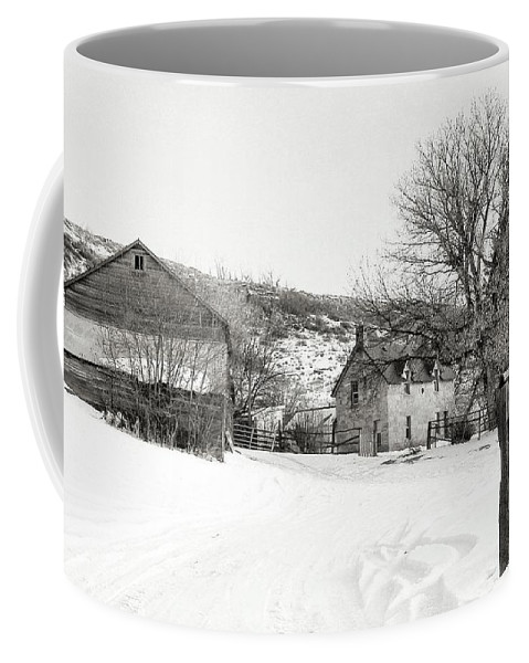 Country Coffee Mug featuring the photograph Country Home by Susan Kinney