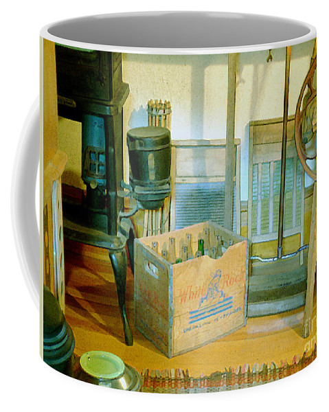 Kitchen Coffee Mug featuring the painting Country Kitchen Sunshine II by RC DeWinter