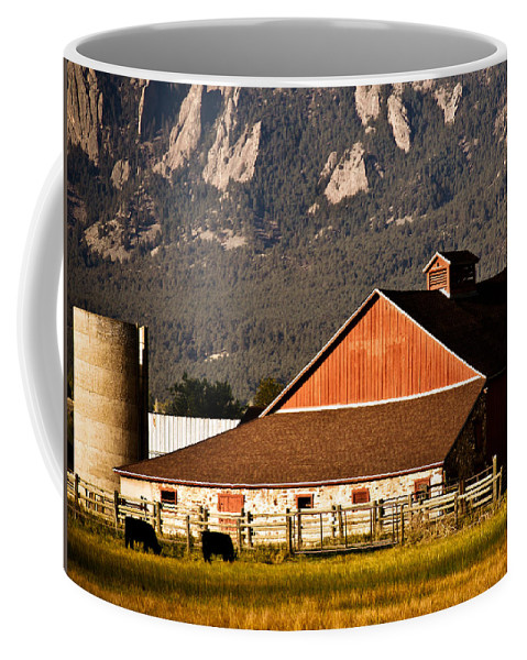 Americana Coffee Mug featuring the photograph Country Living Boulder County by Marilyn Hunt