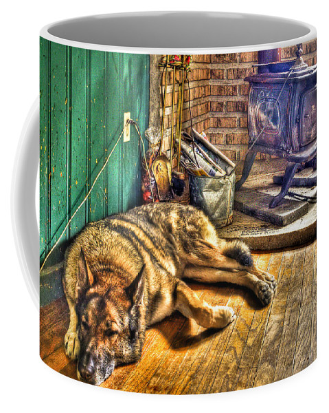 Country Coffee Mug featuring the photograph Country Living by Evelina Kremsdorf