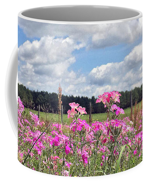 Spring Coffee Mug featuring the photograph Country Roads by LeeAnn Kendall