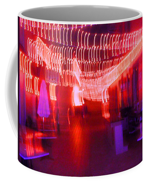 Photograph Coffee Mug featuring the photograph Courtside Lounge 2 by Thomas Valentine
