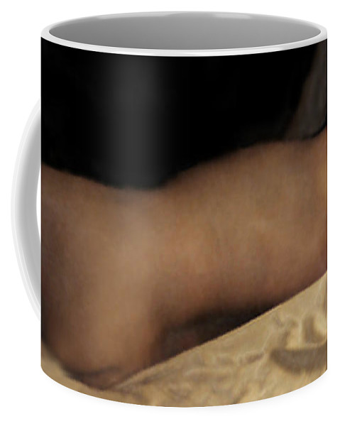 Nude Coffee Mug featuring the photograph Cowboy Dreaming by RC DeWinter