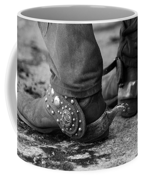 Cowboy Coffee Mug featuring the photograph Cowboy's Spurs by Carol Walker