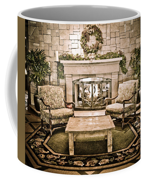Vail Coffee Mug featuring the photograph Cozy by Marilyn Hunt