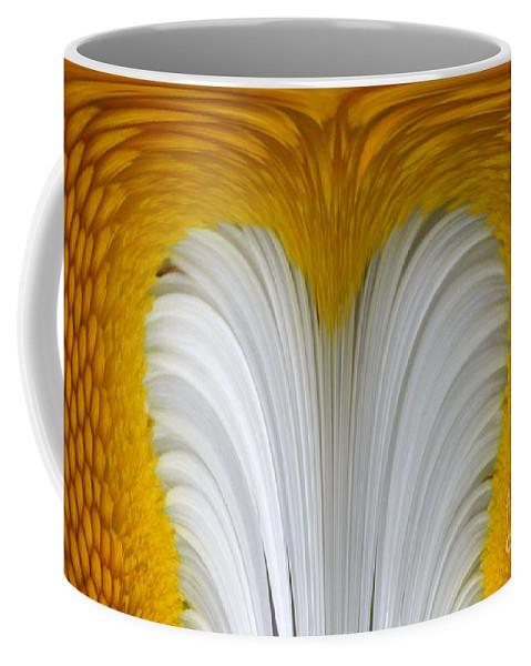 Daisly Coffee Mug featuring the digital art Cozy Shawl Daisy by Barbara Griffin
