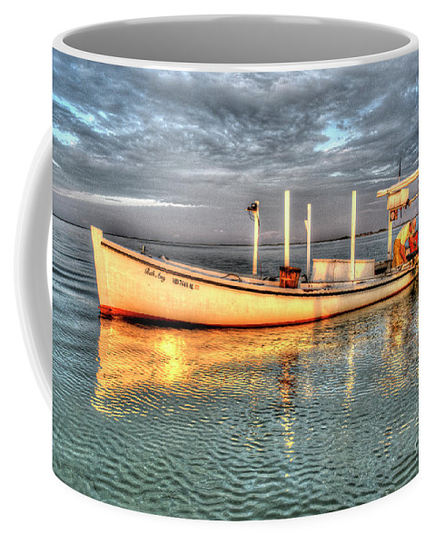 Smith Island Coffee Mug featuring the photograph Crabbing Boat Beth Amy - Smith Island, Maryland by Greg Hager