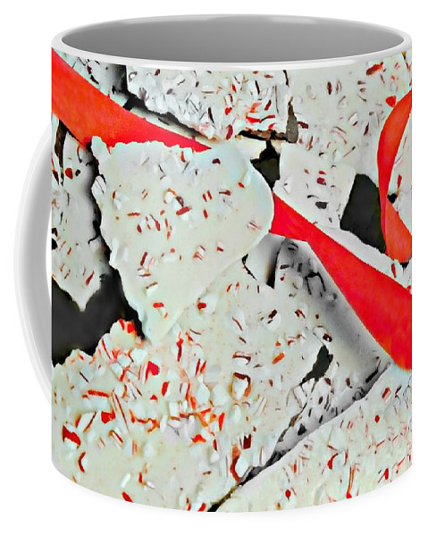 Cracking Up Coffee Mug featuring the photograph Cracking Up by Diana Angstadt