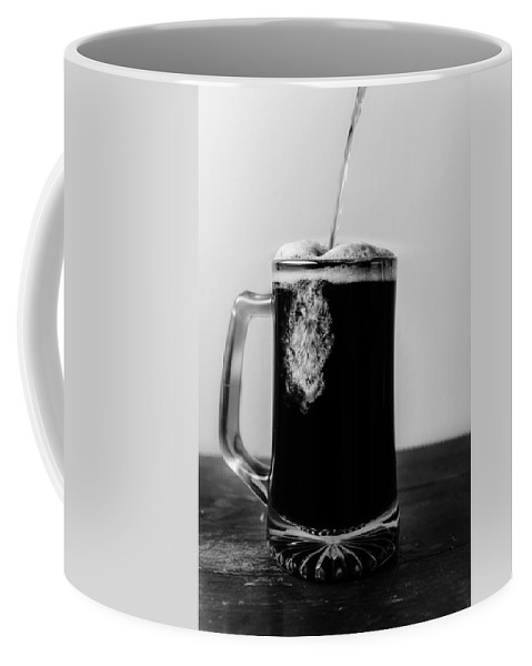 Bar Coffee Mug featuring the photograph Craft Pour by Steven Santamour
