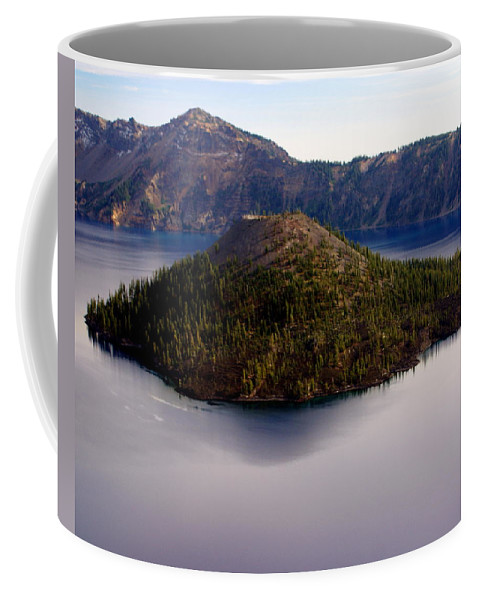 Crater Lake Coffee Mug featuring the photograph Crater Lake 1 by Marty Koch