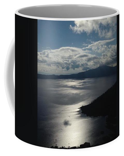 Lake Coffee Mug featuring the photograph Crater lake by Shari Chavira