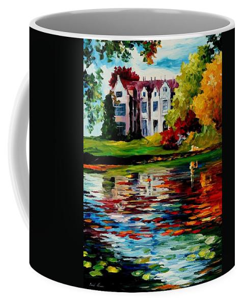 Afremov Coffee Mug featuring the painting Crawley - West Sussex - England by Leonid Afremov