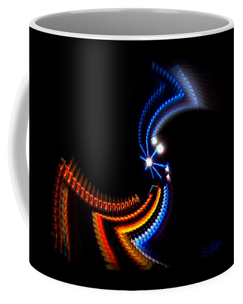 Chaos Coffee Mug featuring the photograph Crazy Dancer by Charles Stuart