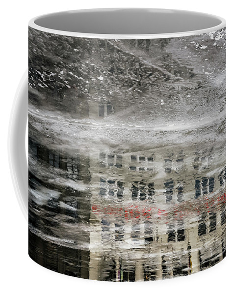 Ice Coffee Mug featuring the photograph Cream City Cold by Scott Norris