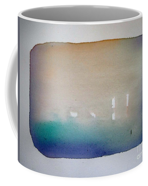 Abstract Coffee Mug featuring the painting Creedence Rivaval by Vesna Antic