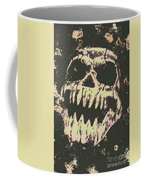Monster Coffee Mug featuring the photograph Creepy Face From Nightmares Past by Jorgo Photography - Wall Art Gallery