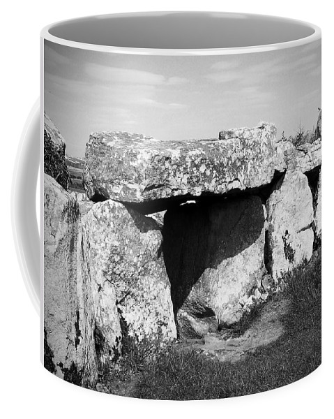 Ireland Coffee Mug featuring the photograph Creevykeel Court Cairn County Sligo Ireland by Teresa Mucha