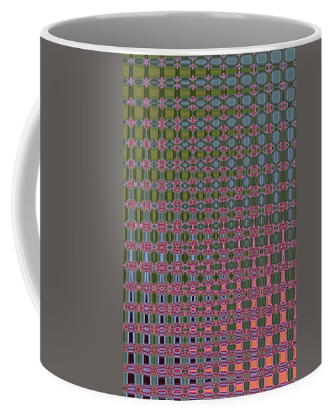 Crepe Myrtle Abstract Coffee Mug featuring the photograph Crepe Myrtle Abstract by Tom Janca