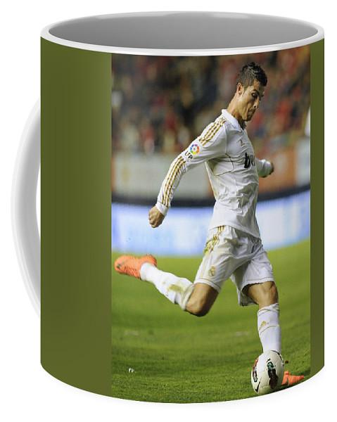 Spain Coffee Mug featuring the photograph Cristiano Ronaldo 2 by Rafa Rivas