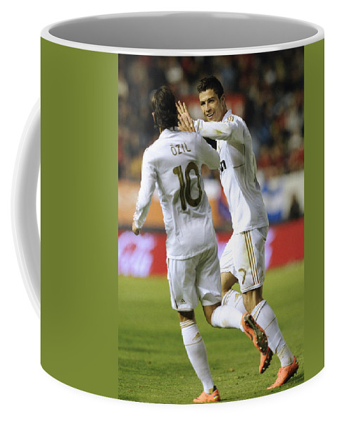 Spain Coffee Mug featuring the photograph Cristiano Ronaldo by Rafa Rivas