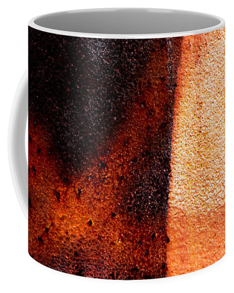 Abstract Coffee Mug featuring the photograph Cross Roads by Bob Orsillo