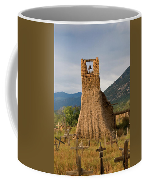 Southwest Coffee Mug featuring the photograph Cross Roads by Jim Benest