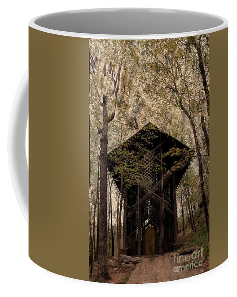 Chapel Coffee Mug featuring the photograph Crown Of Thorns Chapel by Kathleen Struckle