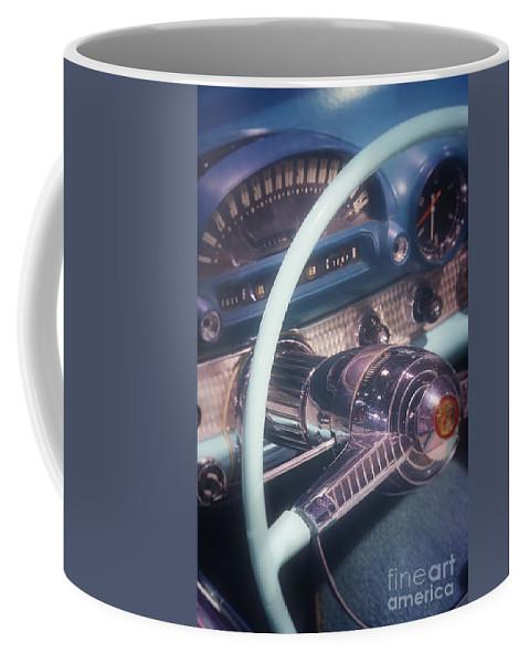T-bird Coffee Mug featuring the photograph Cruising by Jim And Emily Bush