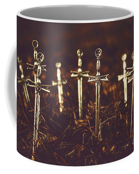 Graveyard Coffee Mug featuring the photograph Crusaders Cemetery by Jorgo Photography - Wall Art Gallery