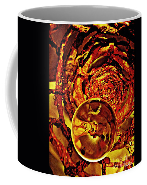Crystal Coffee Mug featuring the photograph Crystal Ball Project 14 by Sarah Loft