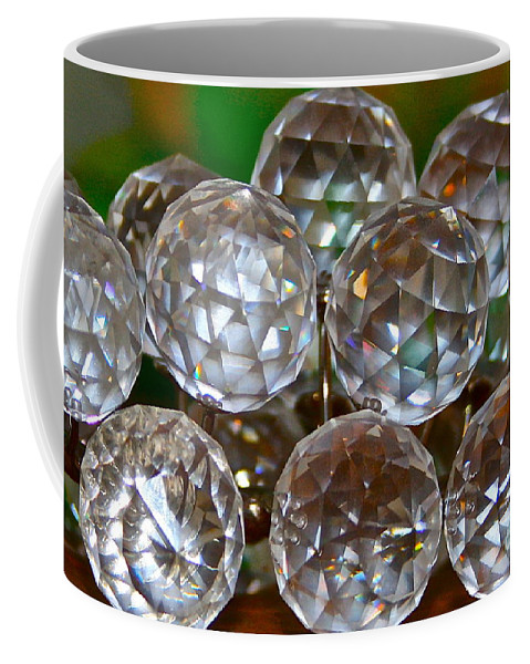 Crystal Coffee Mug featuring the photograph Crystal Balls by Rick Monyahan