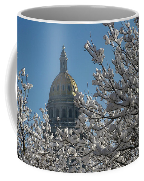 Denver Coffee Mug featuring the photograph Crystal Capitol by Jeffery Ball